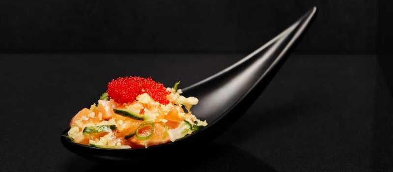 Lachs Sake Tartar
